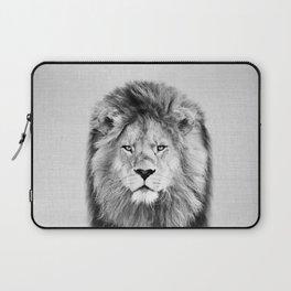 Lion 2 - Black & White Laptop Sleeve