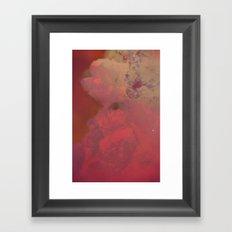 Solar Crystals IV Framed Art Print
