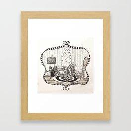 Long Framed Art Print