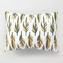 Boho Feather Pattern Pillow Sham