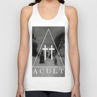 witch Tank Tops featuring Witch by A C U L T