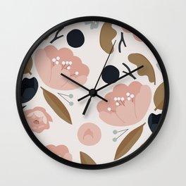 Nature Pattern Wall Clock