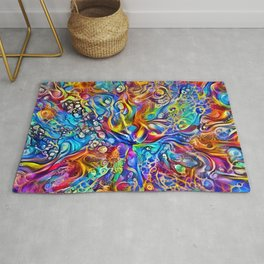 Peacock Dreams Rug