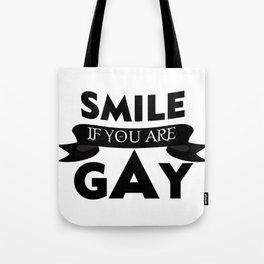 smile - Gay dePri T-Shirt Tote Bag