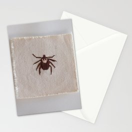 Dog Tick Stationery Cards