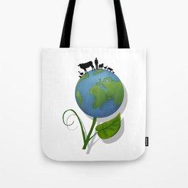 Vegan Universe Tote Bag