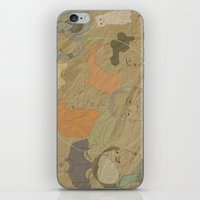 fifth element iPhone & iPod Skins featuring The Fifth Element by Itxaso Beistegui Illustrations