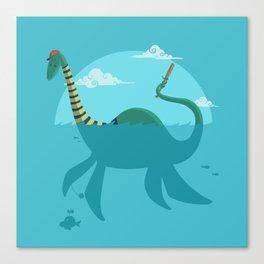 "Loch""Ness"" Monster Canvas Print"