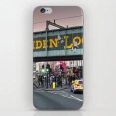 Camden Lock Railway bridge iPhone & iPod Skin