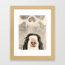 Monozig Framed Art Print