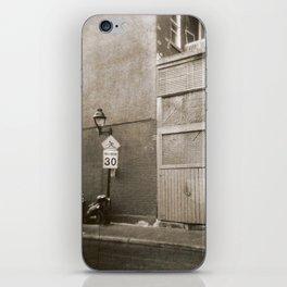 Montreal Street with Holga iPhone Skin