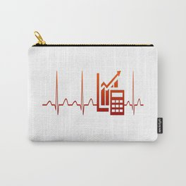 ACCOUNTANT HEARTBEAT Carry-All Pouch