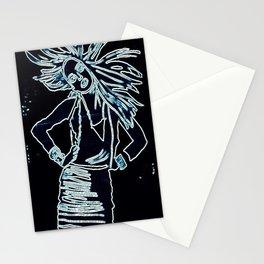 StyleGirl Blue Stationery Cards