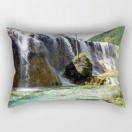 Sunny Cascade Rectangular Pillow