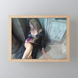 Shadows of Reflection Framed Mini Art Print