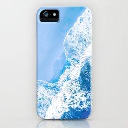 Little Blue Waves | Aerial Beach iPhone Case