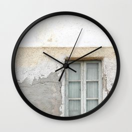 Grunge Window Wall Clock