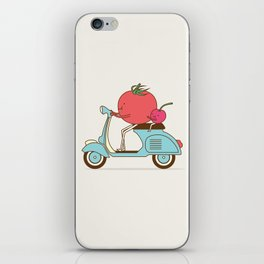 Cherry Tomato iPhone Skin