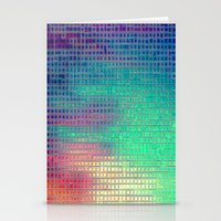 pixel art Stationery Cards featuring piXel by 2sweet4words Designs