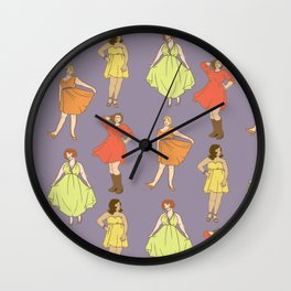 Fabulous Ladies Wall Clock
