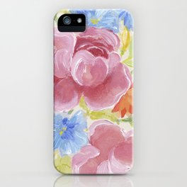 Pretty Bouquet iPhone Case