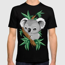 Koala Baby on the Eucalypt Branch T-shirt