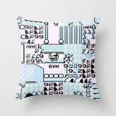 Glitch City Throw Pillow