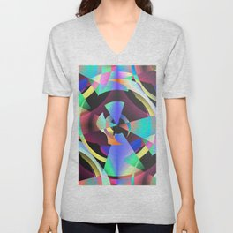 Maladjustments In The Time Continuum Unisex V-Neck