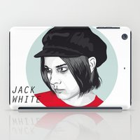 jack white iPad Cases featuring JACK WHITE by Nuk_