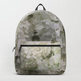 White Hydrangea Backpack