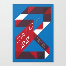 Catch 22 by Joseph Heller Book Cover # 18 Canvas Print