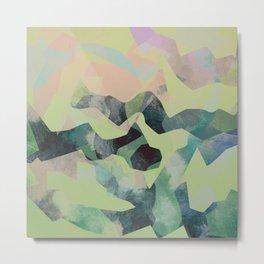 Camouflage X Metal Print