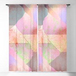 Layered Shapes Ink Splash 03 Blackout Curtain