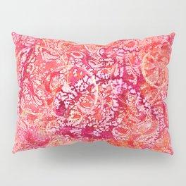 Abundance, Abstract Art Circles Grunge Pillow Sham