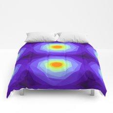 Purple Blossoms Comforters