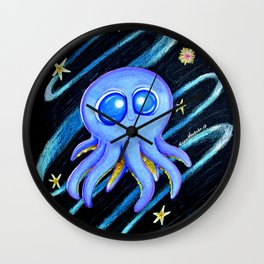 One cute octopus Wall Clock