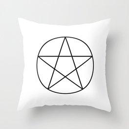 Pentacle Throw Pillow
