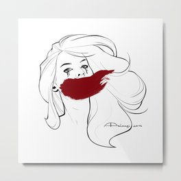Invisible Monsters Metal Print