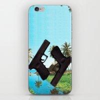 guns iPhone & iPod Skins featuring guns by Hoeroine