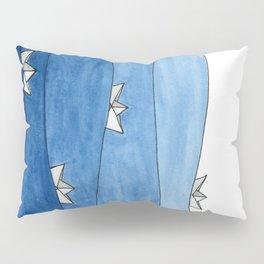 Paper boats Pillow Sham