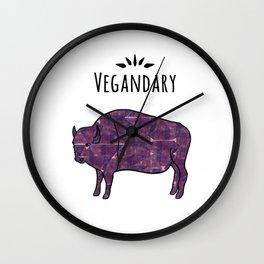 Vegandary Wall Clock