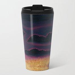 Something in the Clouds Metal Travel Mug