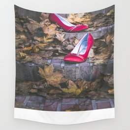 Red Shoes Wall Tapestry