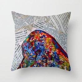 YIN YANG WORDS #society6 #decor #buyart Throw Pillow