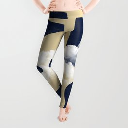 Mix of worlds, between abstract and more abstract #601 Leggings