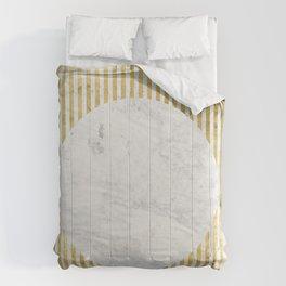 inverse gOld sun Comforters