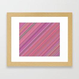 Raspbery Ripple Framed Art Print