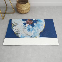 Life in Blue  Rug