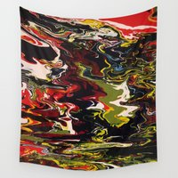 acid Wall Tapestries featuring Acid by Jordan Luckow