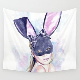Your playful bunny Wall Tapestry